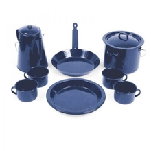 Campfire 11 Piece Enamel Cook Set