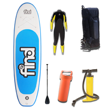 "FIND™ 10'6"" Techlite Inflatable ISUP Stand Up Paddle Board Package with Wetsuit Junior"