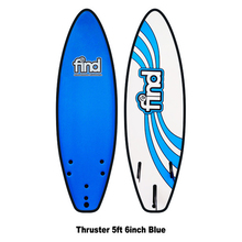 "Find 5'6"" Tufflex Thruster Soft Surfboard Blue"
