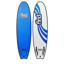 "FIND™ 6'6"" Tufflex Quadfish Soft Surfboard Softboard Blue"