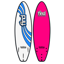 "Find 5'6"" Tufflex Thruster Soft Surfboard Pink"