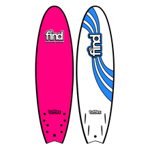 "Find 6'6"" Tufflex Quadfish Soft Surfboard Pink"