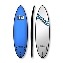"Find 6'0"" Tuffpro Thruster Soft Surfboard Blue"