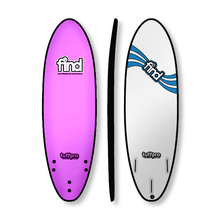 "Find 5'6"" Tuffpro Thruster Soft Surfboard Pink"