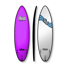 "Find 6'0"" Tuffpro Thruster Soft Surfboard Pink"