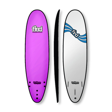 "Find 7'0"" Tuffpro Mini Mal Soft Surfboard Pink"