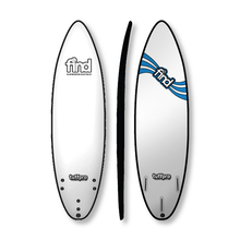 "Find 6'0"" Tuffpro Thruster Soft Surfboard White"