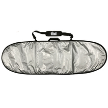 "Find 6'0"" Padded Silver Surfboard Cover/Bag"