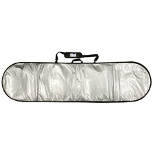 "Find 8'0"" Padded Silver Surfboard Cover/Bag"