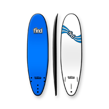 "FIND 7'0"" Tufflex 2 Thruster Soft Surfboard Blue"
