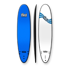 "FIND 8'0"" Tufflex 2 Mini Mal Soft Surfboard Blue"