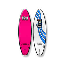 "FIND 6'0"" Tufflex Thruster Soft Surfboard Pink"