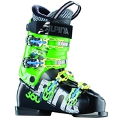 Alpina FS 360 Black/Green Mens Advanced Freestyle Ski Boots