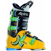 Alpina X6 Action Orange/Black Mens Recreational Ski Boots