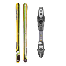 Five Forty Park Twin Tip Snow Skis with Tyrolia SP AC 7.5 Binding -145cm