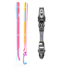 Five Forty Sound Twin Tip Snow Skis with Tyrolia SP AC 7.5 Binding -155cm