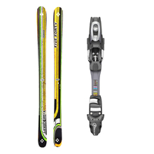 Five Forty Park Twin Tip Snow Skis with Tyrolia SP AC 7.5 Binding -155cm