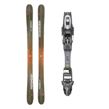 Five Forty Beach Twin Tip Snow Skis with Tyrolia SP AC 7.5 Binding -155cm