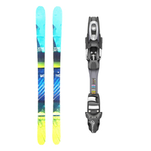 Five Forty Reverse Twin Tip Snow Skis with Tyrolia SP AC 7.5 Binding -155cm