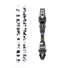 Five Forty Shattered Twin Tip Snow Skis with Tyrolia SP ABS 10 Binding -165cm
