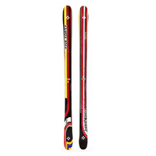 Five Forty Park Twin Tip Snow Skis with Tyrolia SP ABS 10 Binding -165cm