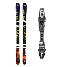 Five Forty Reverse Twin Tip Snow Skis with Tyrolia SP ABS 10 Binding -165cm