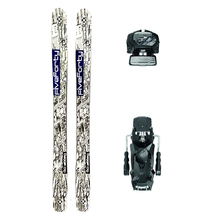 Five Forty Dagger Powder Twin Tip Snow Skis with Tyrolia Attack2 13 GW Binding - 170cm