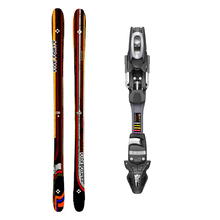 Five Forty Park Twin Tip Snow Skis with Tyrolia SP ABS 10 Binding - 175cm