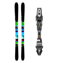 Five Forty Surf Twin Tip Snow Skis with Tyrolia SP ABS 10 Binding - 175cm
