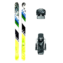 Bluehouse Lady Powder Twin Tip Snow Skis with Tyrolia Attack2 13 GW Binding - 176cm