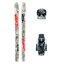 Five Forty Cloak Powder Twin Tip Snow Skis with Tyrolia Attack2 13 GW Binding - 177cm
