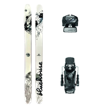 Bluehouse Maestro Powder Twin Tip Snow Skis with Tyrolia Attack2 13 GW Binding - 178cm