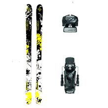 Westige Cannibal Twin Tip Snow Skis with Tyrolia Attack2 13 GW Binding - 180cm
