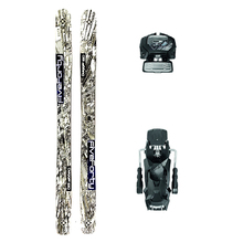 Five Forty Dagger Powder Twin Tip Snow Skis with Tyrolia Attack2 13 GW Binding - 180cm