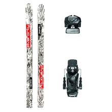 Five Forty Cloak Powder Twin Tip Snow Skis with Tyrolia Attack2 13 GW Binding - 184cm