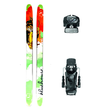 Bluehouse Maven Powder Twin Tip Snow Skis with Tyrolia Attack2 13 GW Binding - 187cm