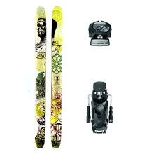 Bluehouse Maven Powder Twin Tip Snow Skis with Tyrolia Attack2 13 GW Binding - 189cm