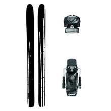 Bluehouse The Shoots Powder Twin Tip Snow Skis with Tyrolia Attack2 13 GW Binding - 191cm