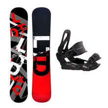 LTD Snowboard Fullcap Geo Flat Rocker 161cm Package with Bindings