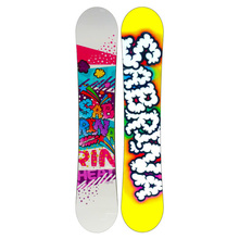 Sabrina Snowboard Sandwich Heather Flat Rocker 147cm