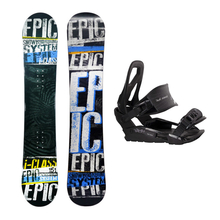 Epic Snowboard Fullcap I-Class Camber 151cm Package with Bindings