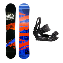Aria Snowboard Fullcap Drawliner Camber 157cm Package with Bindings