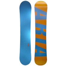 Aria Kolorbar 157.5cm Freestyle Snowboard Camber