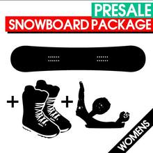PRESALE Women's Snowboard Package with Bindings & Boots