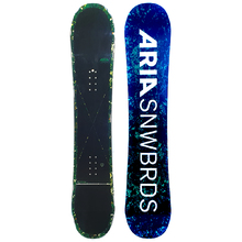 Aria Dropout Green 159cm Wide Snowboard