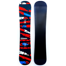 Blackhole Escape Red/Black 159cm Wide Flat Rocker Snowboard