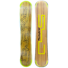 Five Forty Sjfcl Yellow 159cm Wide Rocker Snowboard