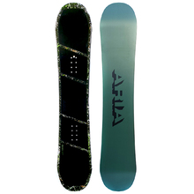 Aria Dropout Grey/Green 159cm Wide Snowboard