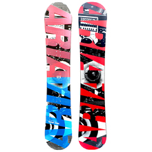 Aria Sound Vibes Blue 157cm Wide Camber Snowboard