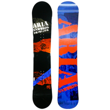 Aria Drawliner Orange And Blue 157cm Wide Camber Snowboard